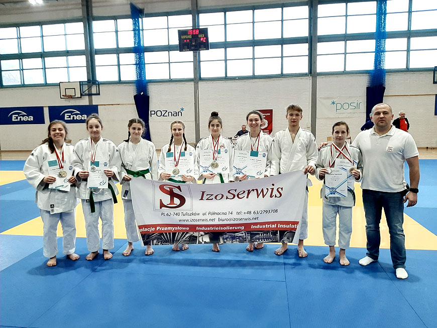 UKS Judo Tuliszków na Mistrzostwach Wielkopolski Dzieci, Młodzików, Juniorów