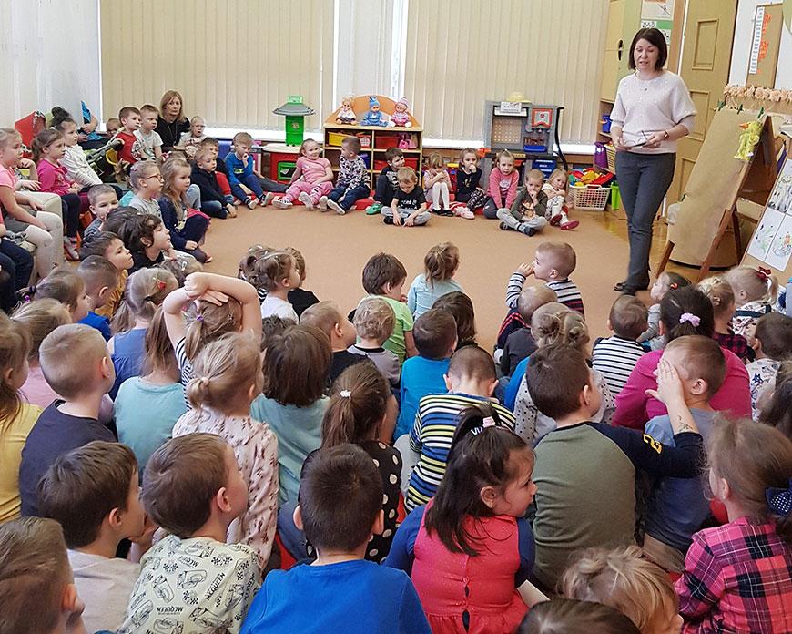 Co to jest tolerancja? Spotkanie z przedszkolakami