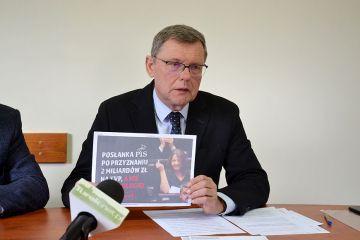 Wideo: Konferencja posła Nowaka pod znakiem...