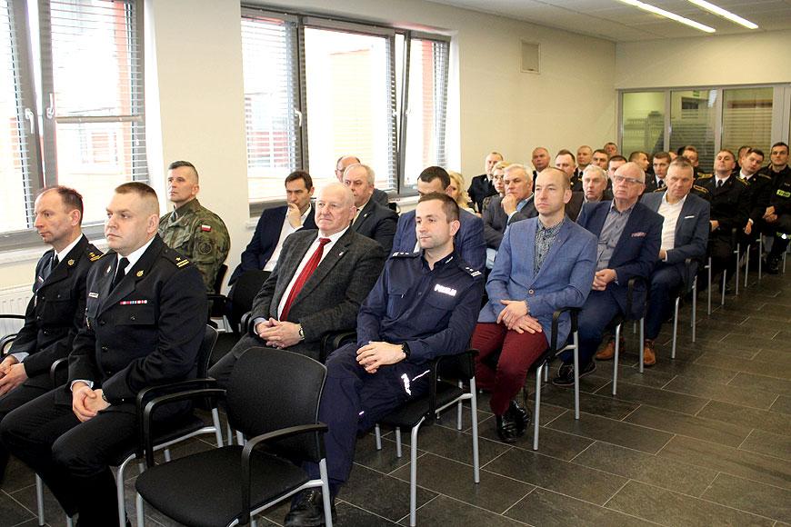 Narada roczna w Komendzie Powiatowej PSP Turek - fot. PSP Turek