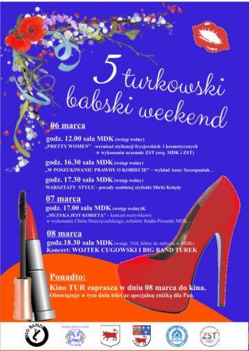 V Turkowski Babski Weekend