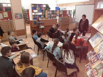 Uczniowie SP5 z wizytą w Bibliotece Pedagogicznej