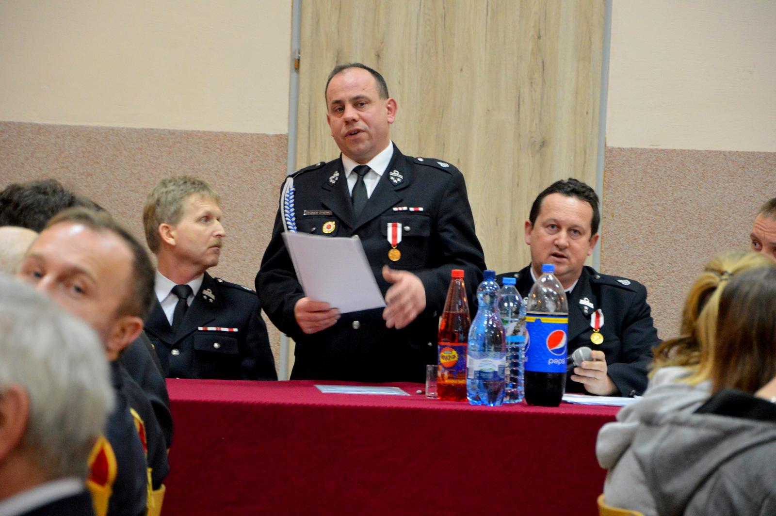 Walne zebranie Ochotniczej Straży Pożarnej w Brudzewie - fot. OSP Brudzew