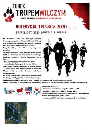 VIIII edycja biegu Tropem Wilczym