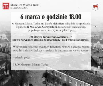 O powojennej architekturze Turku z Makarym Górzyńskim