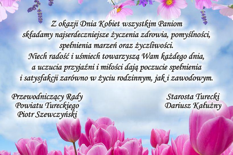 Życzenia Samorządu Powiatu Tureckiego