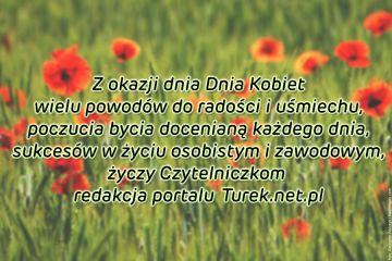 Życzenia Redakcji Portalu Turek.net.pl