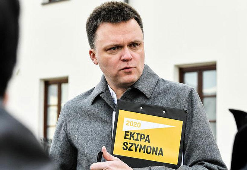 Popierasz Szymona Hołownię? W sobotę zbiórka podpisów pod jego kandydaturą. - fot. PAP/Wojtek Jargiło