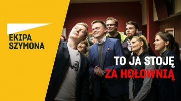 Popierasz Szymona Hołownię? W sobotę zbiórka podpisów pod jego kandydaturą.