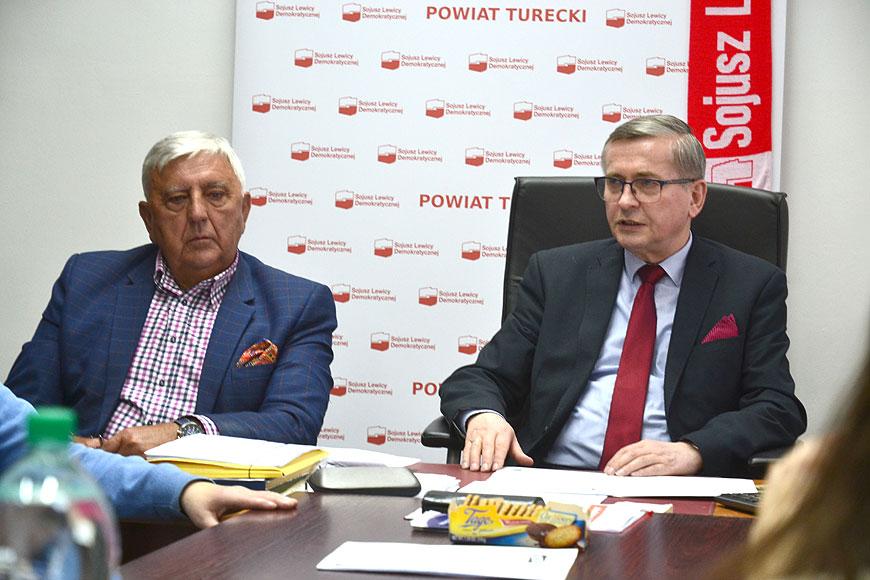 Wideo: Konferencja Lewicy z udziałem Posła Tadeusza Tomaszewskiego