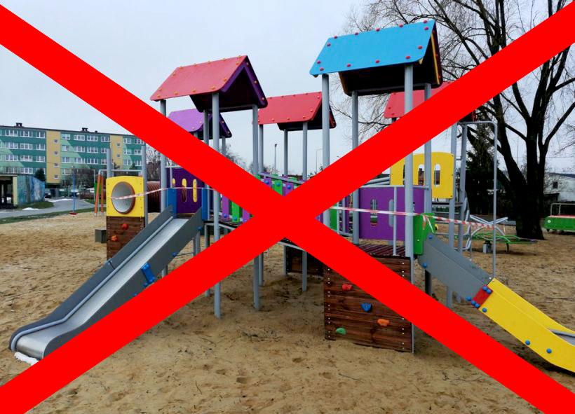 #ZostańWDomu: Place zabaw zamknięte z uwagi na dużą frekwencję
