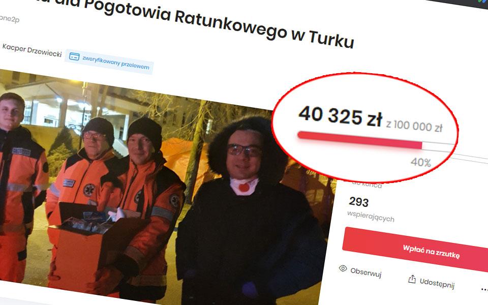 Już ponad 40 tyś zł w społecznej zbiórce na respirator i medykamenty dla turkowskiego szpitala