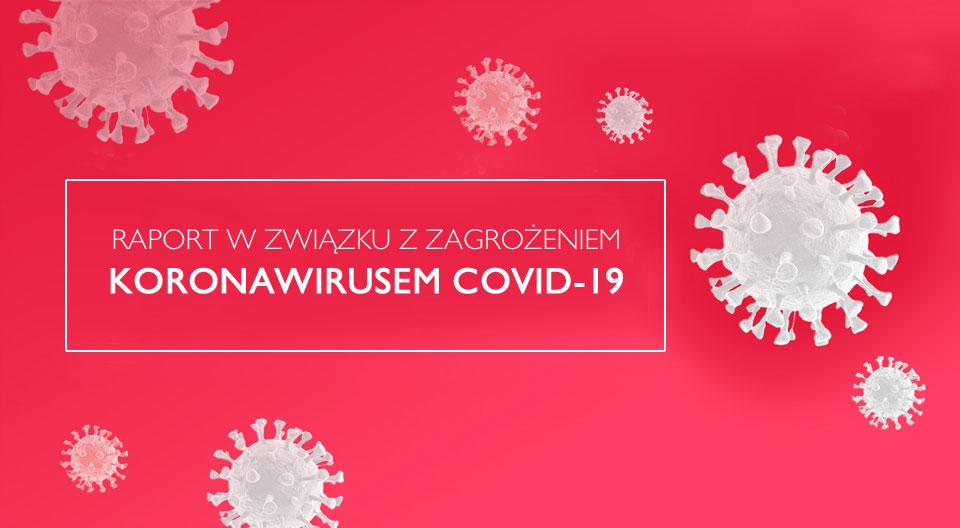 Raport PSSE w Turku na dzień 26 marca w związku z COVID-19. W Kaliszu 7 przypadków zarażenia