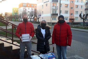 Maski i rękawiczki dla turkowian od członków...