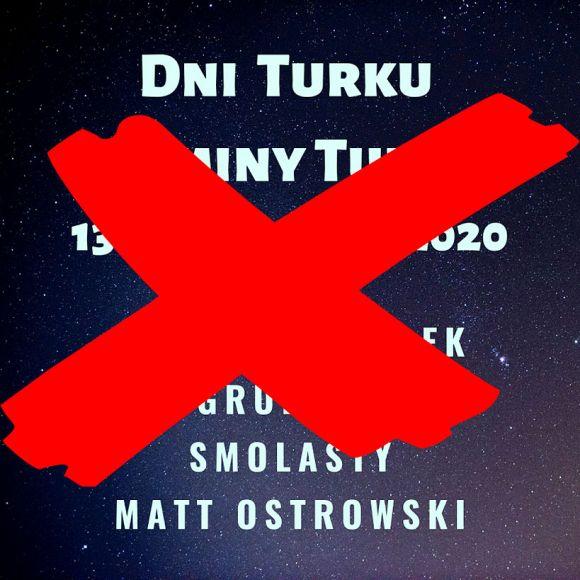 Miasto Turek: Dni Turku i Gminy Turek odwołane