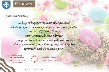 Życzenia Wielkanocne Gmina Brudzew