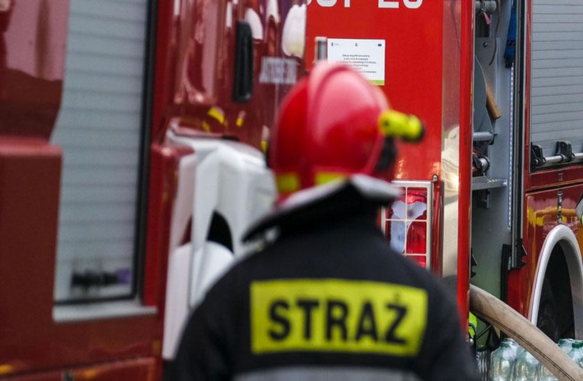 Pożar mieszkania na ul Polnej. Nie żyje 47-letni mężczyzna. - fot. Zdjęcie ilustracyjne