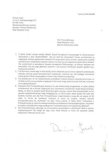 Oświadczenie Radnych Miasta Klubu PIS