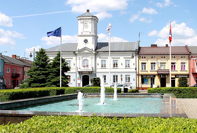 Sanepid wstrzymuje uruchomienie fontanny w rynku