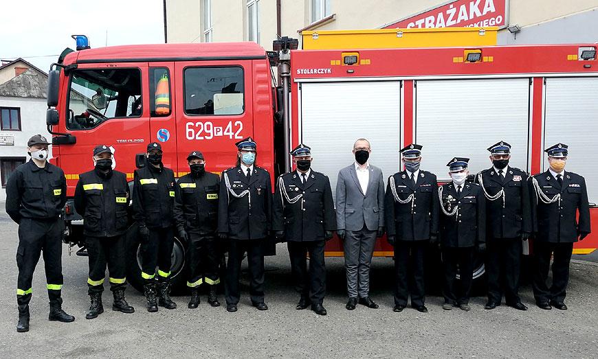 Ochotnicza Straż Pożarna w Turku obchodzi 145 lat istnienia - fot. UM Turek