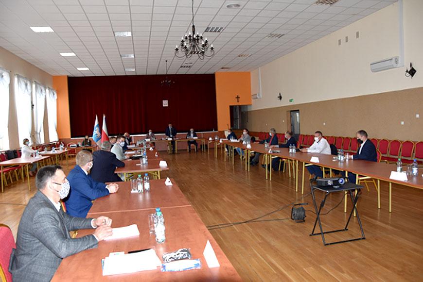 XVII Sesja Rady Gminy Przykona mimo pandemii koronawirusa