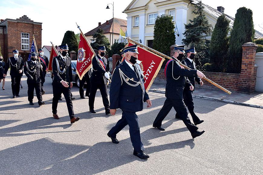 Druhowie z gminy Władysławów uczcili swojego patrona - fot. UG Władysławów