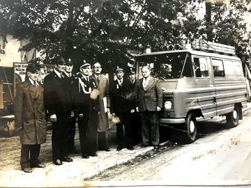 100-lecie Ochotniczej Straży Pożarnej w Wyszynie