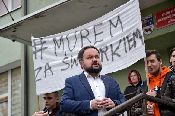 Zawiadomienie w sprawie konkursu na dyrektora ZSR w Prokuraturze....
