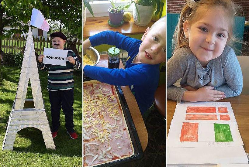 Europa oczami przedszkolaków oraz uczniów Szkoły Podstawowej w Wyszynie, czyli kolejne wydarzenie w ramach nauczania zda