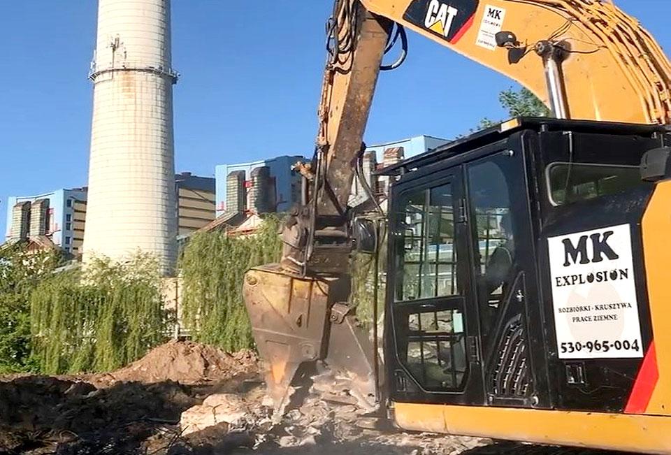 MK Explosion rozpoczęła prace przygotowawcze do rozbiórki Elektrowni Adamów