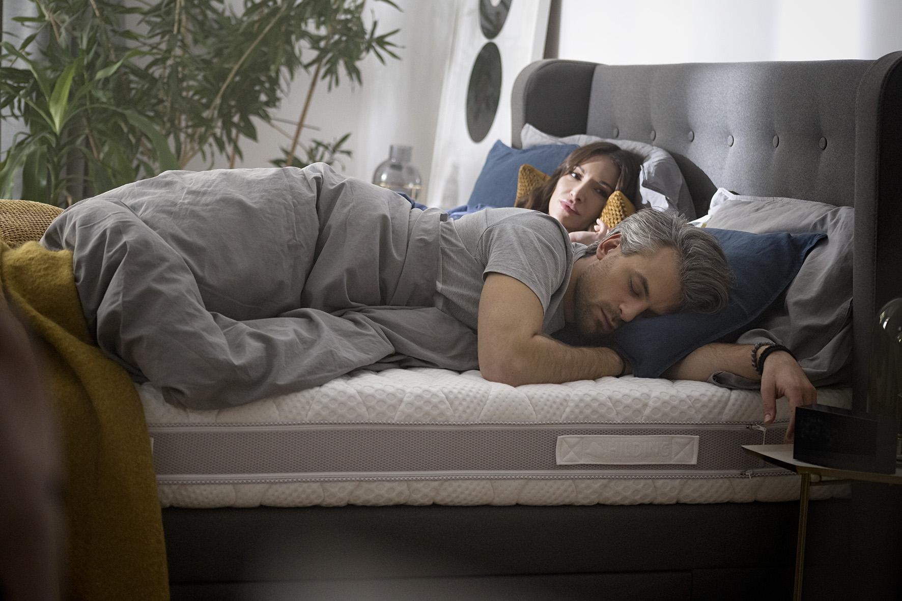 Aranżacja sypialni z Hilding Anders - lider produkcji i materacy w Polsce radzi jak urządzić sypialnię