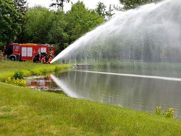 Działania na rzecz ochrony przeciwpożarowej w...