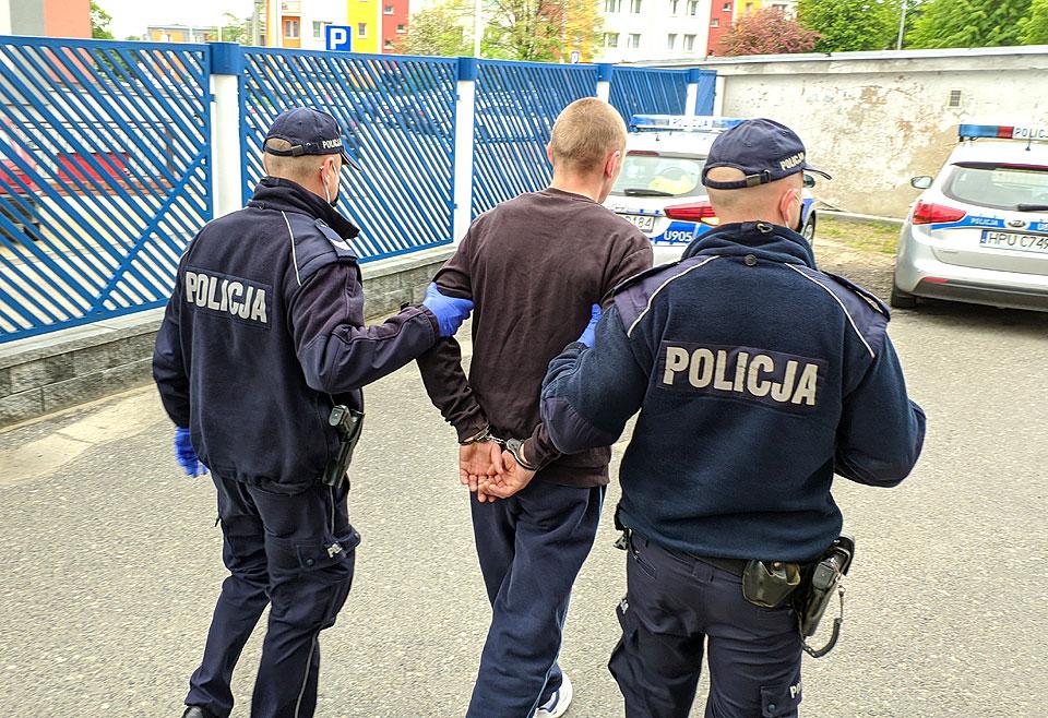 Zatrzymano dwóch mężczyzn z pokaźną ilością amfetaminy. Grozi im do 10 lat więzienia - fot. KPP Turek