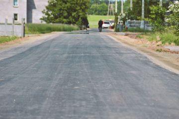 Droga w Skarżynie-Kolonii w nowej odsłonie