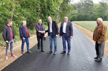 Zakończono budowę drogi Długa Wieś - Moczydła....