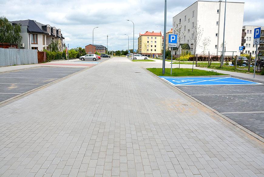 Ulica Witosa oddana przed czasem. Inwestycja powstała przy znacznym wsparciu