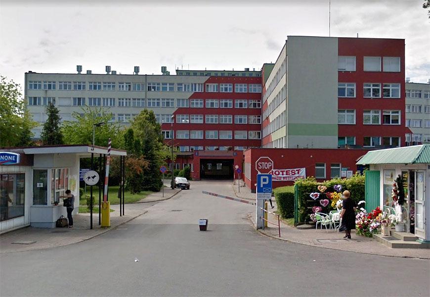 Kolejny ósmy przypadek zakażenia koronawirusem w powiecie - szpital w Koninie / fot. google map