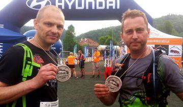Biegacze z KB Maraton na piekielnie trudnym...