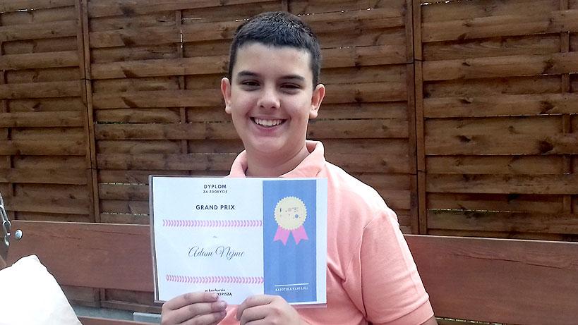 Uczeń SP5 nagrodzony w konkursie