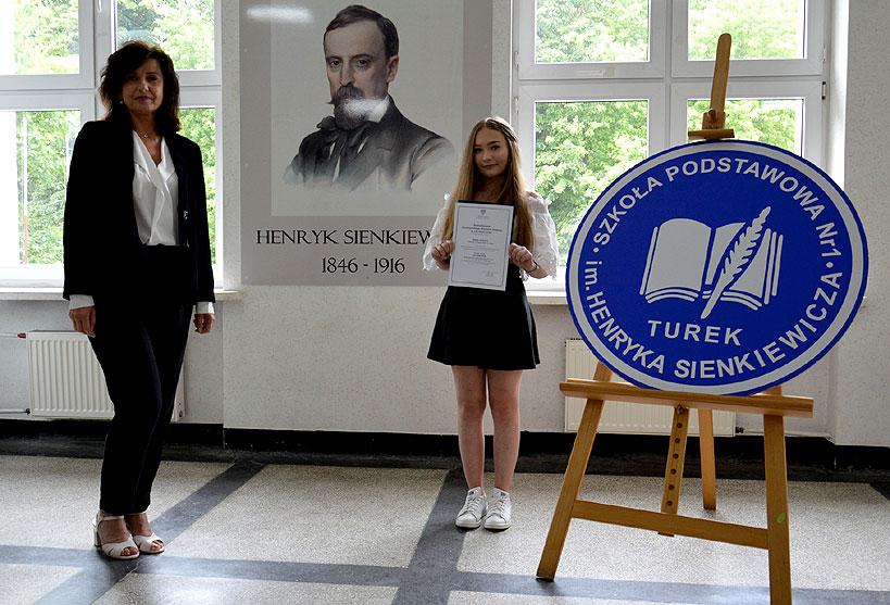 Liwia Olejnik - laureatką Wojewódzkiego Konkursu Języka Polskiego