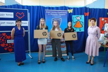 Szkoły podstawowe w gminie Tuliszków otrzymały kolejne laptopy - fot. UG Tuliszków