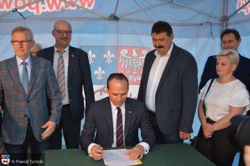 Umowa na budowę obwodnicy Grzymiszewa podpisana