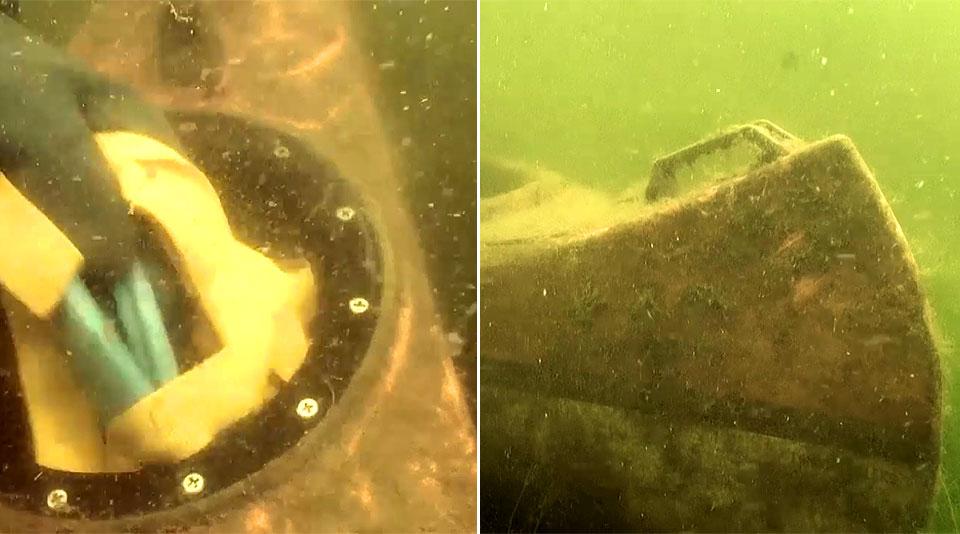 Wideo: Niecodzienne znalezisko na dnie zbiornika wodnego w powiecie. Właściciel tajemniczej łodzi poszukiwany.