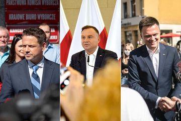 Andrzej Duda wygrywa w powiecie z miażdżącą...