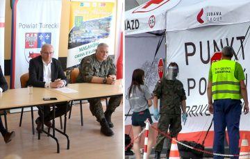 Wideo: Konferencja władz województwa i powiatu...
