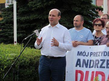 Wiceminister Szymon Szynkowski vel Sęk z wizytą...