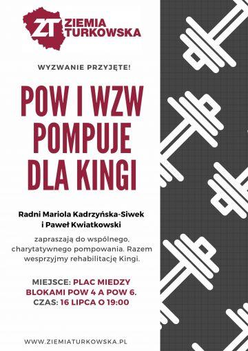 POW i WZW pompuje dla Kingi!