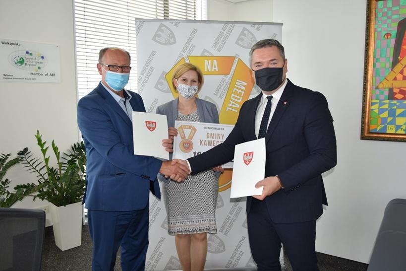 Szatnia na medal dla gminy Kawęczyn - źródło: Gmina Kawęczyn