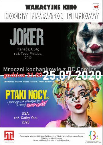 Joker i Harley Quinn na dziecińcu Muzeum Miasta już w najbliższą sobotę