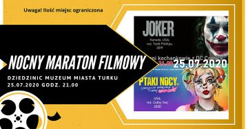 Joker i Harley Quinn na dziecińcu Muzeum Miasta...
